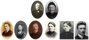 Fotografia rodziny van Gogh.