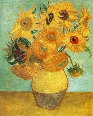 Obraz van Gogha - Słoneczniki