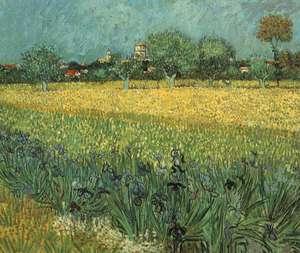 Van Gogh - obraz - Widok Arles