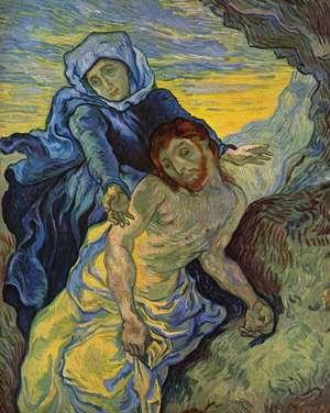 Obraz van Gogha - Pieta