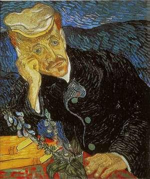 Obraz van Gogha - Portret doktora Gacheta -  Dr Paul Gachet